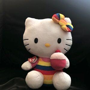 TY Hello Kitty Cupcake Plush